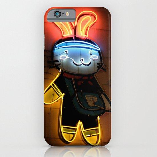 Neon Bunny  iPhone & iPod Case