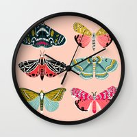 Lepidoptery No. 1 By And… Wall Clock