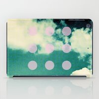 Clouds + Dots iPad Case