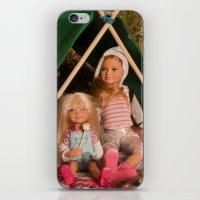 Camping Trip iPhone & iPod Skin