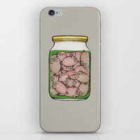 Pickled Pigs iPhone & iPod Skin