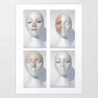 Maniface Art Print
