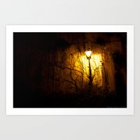 The Lamp Ghost Art Print