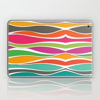 Abstract color waves Laptop & iPad Skin