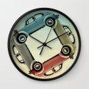 4 more bugs _ VW beetle Wall Clock