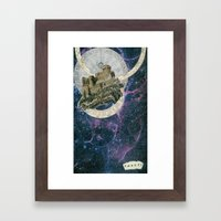 My Home At The End Of Th… Framed Art Print