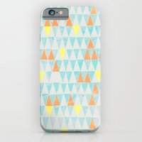 Triangle Patterns iPhone 6 Slim Case