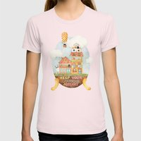 Keep Your Paradise In Yo… Womens Fitted Tee Light Pink SMALL