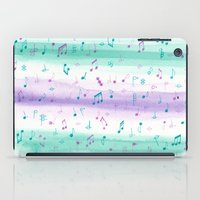 #102. JENNI (Musical Notes) iPad Case