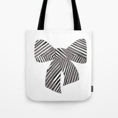 Watercolour Bow Tote Bag