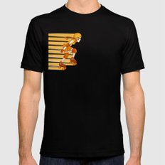 Roller Derby Skater by RonkyTonk Black Mens Fitted Tee SMALL