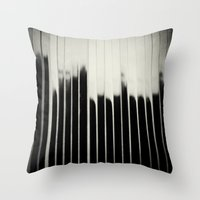 STEEL & MILK Throw Pillow