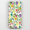 Fruit And Veggie Madness iPhone & iPod Skin