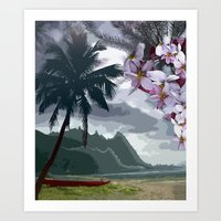 The Storm is Passing Art Print