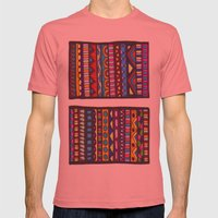 We Are All Equal Mens Fitted Tee Pomegranate SMALL