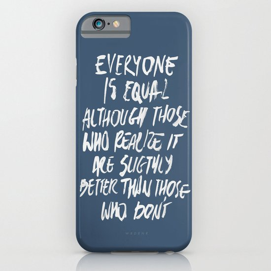 Equal iPhone & iPod Case