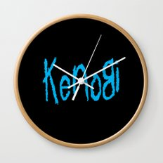 Follow the Jedi Wall Clock