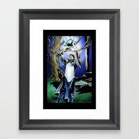 Dirk Nowitzki The Eterna… Framed Art Print
