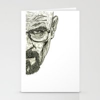 breaking bad Stationery Cards featuring Breaking Bad by Adam McDade