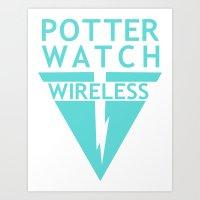 Potterwatch Wireless Art Print