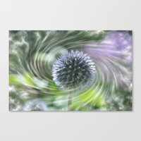 Caught In A Swirl Canvas Print