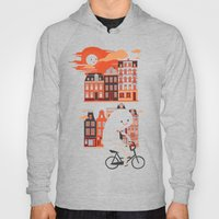Happy Ghost Biking Throu… Hoody