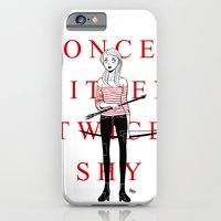 iPhone & iPod Case featuring Once Bitten Twice Shy by Albert Lee