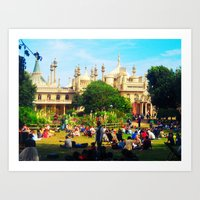Brighton Pavilion Art Print