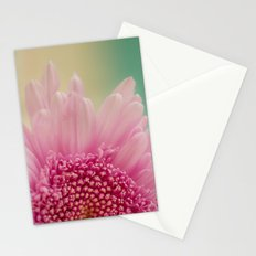 Pink bursts, Floral Macro Photography Stationery Cards