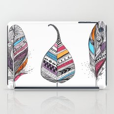 Aztec Leaf and Feathers iPad Case