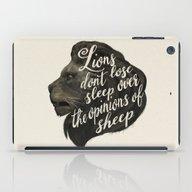 Lions Don't Lose Sleep O… iPad Case
