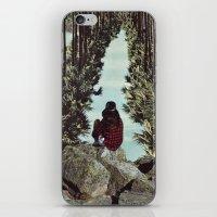RELENTLESS CORRIDORS iPhone & iPod Skin