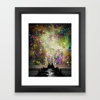 The Universe Was Ours Framed Art Print
