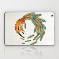 fox circle Laptop & iPad Skin