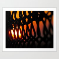 Gate to Sunset Art Print