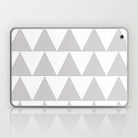 Grey Triangle /// www.pencilmeinstationery.com Laptop & iPad Skin