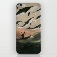 Minke Whale Migration iPhone & iPod Skin
