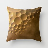 Many Moons. Throw Pillow