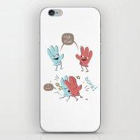 High Five (gloves Versio… iPhone & iPod Skin