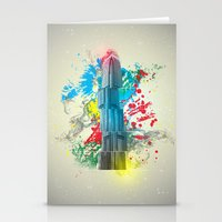 IFC Hong Kong Abstract Stationery Cards
