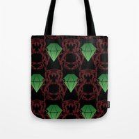 Emeralds & Demons [BLACK… Tote Bag