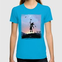 Thor Kid Womens Fitted Tee Teal SMALL