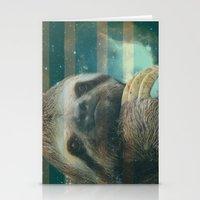 Ragin' like sloth!  Stationery Cards