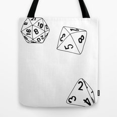 Dungeons and Dragons Dice Tote Bag
