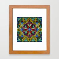 The Flower Of Life (Sacr… Framed Art Print