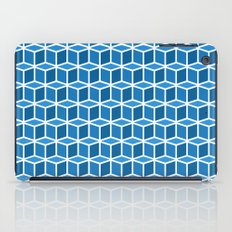 Blue Boxes iPad Case