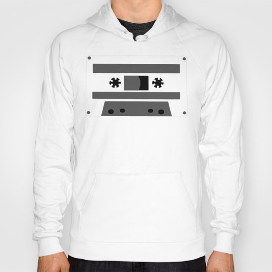 Black and White Tapes 45 Hoody