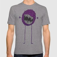 Fluff Mens Fitted Tee Athletic Grey SMALL