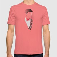 Inspector Spacetime Mens Fitted Tee Pomegranate SMALL