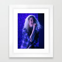 Alison Mosshart // The Kills Framed Art Print